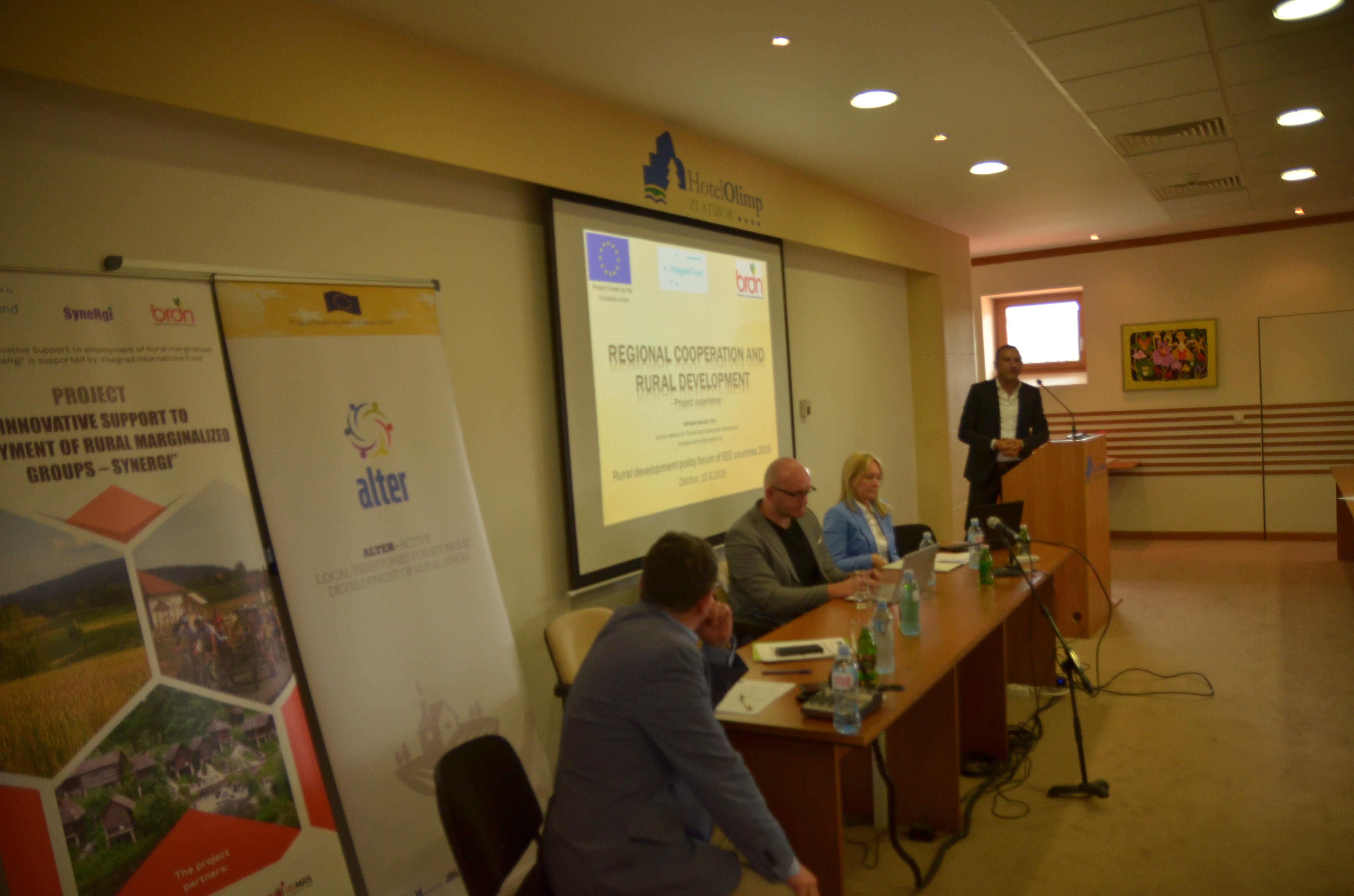 Účast MAS Krajina srdce na mezinárodním fóru pro rozvoj venkova v srbském městě Zlatibor